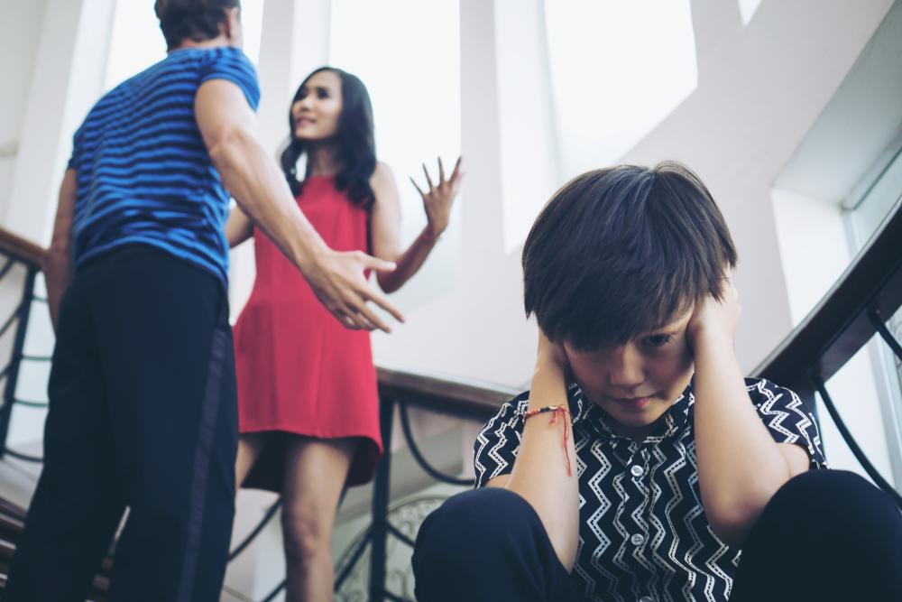 divorce sur les enfants